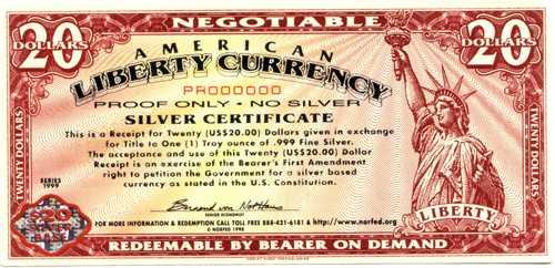 liberty dollare