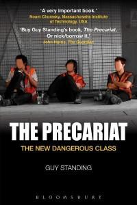 precariat guy standing