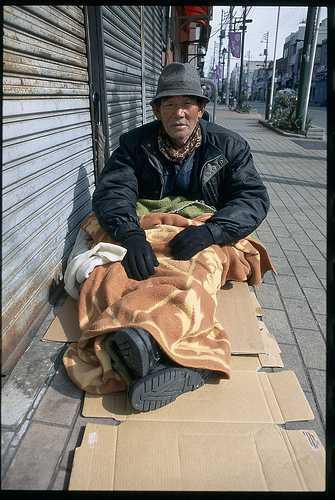 pauvreté japon