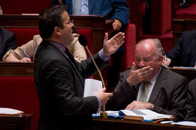 Martin Hirsch à l'assemblée nationale -- CC Richard Ying