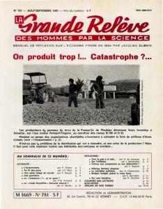Numéro de Aout-Septembre 1981.