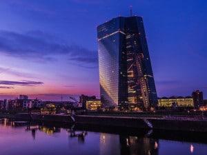 Le nouveau siège de la Banque Centrale Européenne