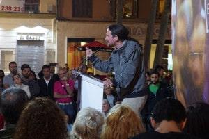 Pablo Iglesias à Malaga