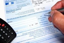Feuille d'impôts
