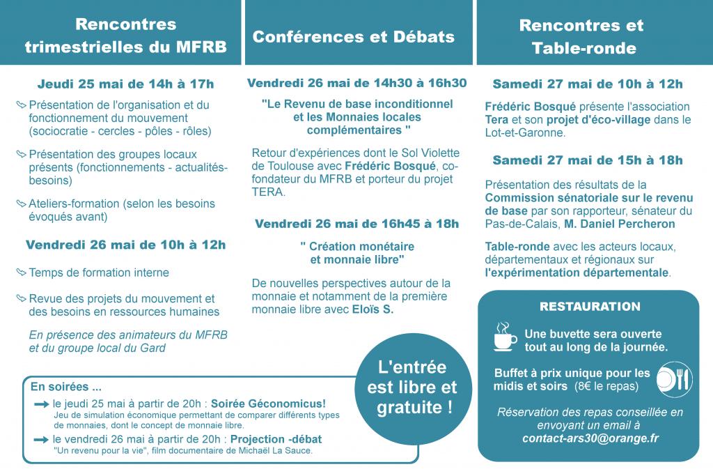 Rencontres du Gard (25-27 mai)