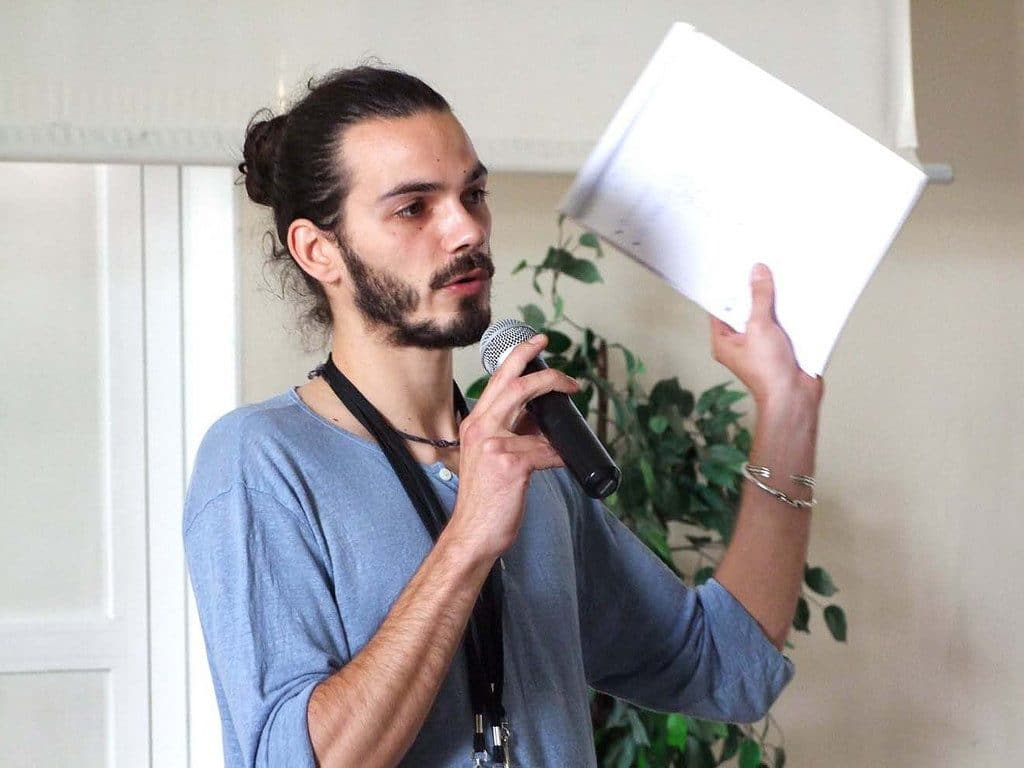 Raphaël Modiano, organisateur de la rencontre d'Arras